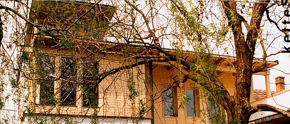 Derkovits utca - családi ház